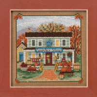 Country Store Cross Stitch Kit Mill Hill 2017 Buttons & Beads Autumn MH141722