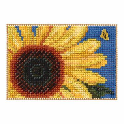 Autumn Gold Bead Cross Stitch Kit Mill Hill 2017 Autumn Harvest MH181726