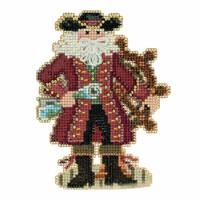 Jamaica Santa Cross Stitch Kit Mill Hill 2017 Caribbean Santas MH201731