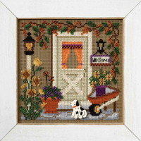 Country Welcome Cross Stitch Kit Mill Hill 2007 Buttons & Beads Autumn