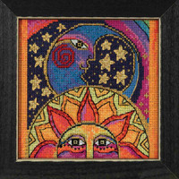 Celestial Joy Cross Stitch Kit Mill Hill 2018 Laurel Burch LB141815
