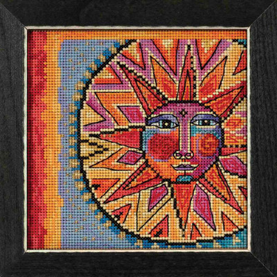 Celestial Blue Cross Stitch Kit Mill Hill 2018 Laurel Burch LB141816