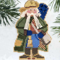 Southern Cross Santa Bead Ornament Kit Mill Hill 2000 Starlight Santas
