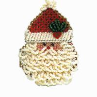 Curly Ho Ho Bead Christmas Ornament Kit Mill Hill 2004 Winter Holiday
