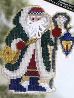 Glacier Santa Bead Christmas Ornament Kit Mill Hill 2005 Polar Santas
