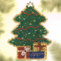 Gifts Galore Bead Christmas Ornament Kit Mill Hill 2005 Winter Holiday
