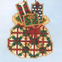 Santa's Sack 2006 Beaded Ornament Kit Mill Hill 2006 Santa's Closet