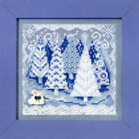 Winter Wonderland Holiday Kit Mill Hill 2009 Buttons & Beads Winter