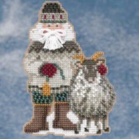 Greenland Santa Bead Ornament Kit Mill Hill 2009 Arctic Circle Santas