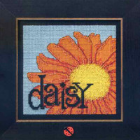 Daisy Beaded Cross Stitch Kit Mill Hill 2009 Buttons & Beads Spring