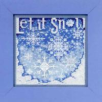 Snowfall Cross Stitch Kit Mill Hill 2010 Buttons & Beads Winter