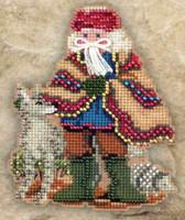 Mesa Santa Beaded Holiday Ornament Kit Mill Hill 2011 Southwest Santas