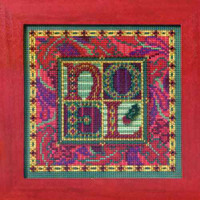 Tapestry Noel Cross Stitch Kit Mill Hill 2012 Buttons & Beads Winter