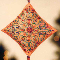 Tangerine Sorbet Tiny Treasured Diamond Bead Kit Mill Hill 2013