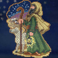 Luke Bead Christmas Cross Stitch Kit Mill Hill 2013 Nativity Trilogy