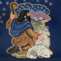 Benjamin Christmas Cross Stitch Kit Mill Hill 2013 Nativity Trilogy