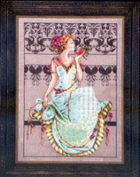 Persephone Kit Cross Stitch Chart Fabric Beads Silk Floss Mirabilia MD127