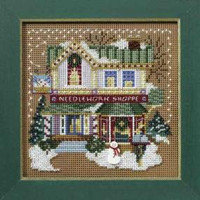 Needlework Shop Cross Stitch Kit Mill Hill 2008 Buttons & Beads Winter
