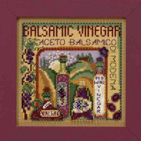 Balsamic Vinegar Cross Stitch Mill Hill 2009 Buttons & Beads Autumn