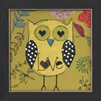 Love Owl Beaded Counted Cross Stitch Kit Mill Hill Amylee Weeks 2014