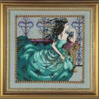 Cassiopeia Kit Cross Stitch Chart Fabric Beads Silk Floss Braid Nora Corbett Mirabilia MD131