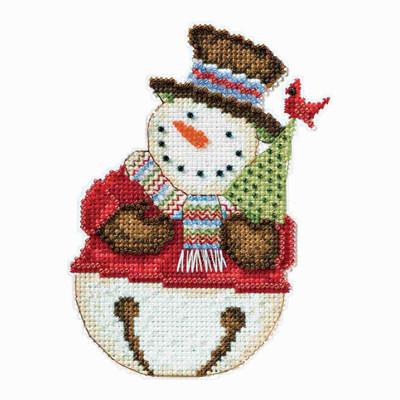 Frank Snowbell Cross Stitch Kit Debbie Mumm 2014 Snowbells