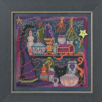 Wanda's Witchery Cross Stitch Mill Hill 2014 Buttons & Beads Autumn