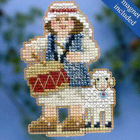 Drummer Boy Beaded Cross Stitch Kit Mill Hill 2014 Winter Holiday