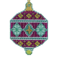 Berry Beaded Cross Stitch Kit Mill Hill 2014 Christmas Jewels