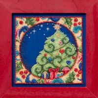 Tree Bead Cross Stitch Kit Mill Hill 2014 Jim Shore Winter JS30-4104