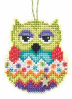 Kiwi Beaded Charmed Cross Stitch Kit Mill Hill 2015 Owlets MH165103