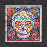 Sugar Skull Beaded Kit Mill Hill 2015 Buttons & Beads Autumn MH145204