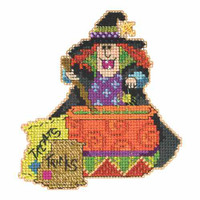 Miranda Bead Cross Stitch Kit Mill Hill 2015 Hocus Pocus Trilogy MH195201