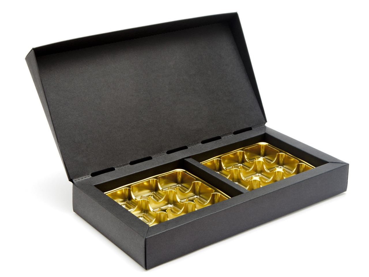 18 Choc Deluxe Gift Box - Black | Meridian Speciality Packaging ...