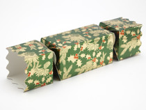 Medium Twist End Cracker - Traditional Holly | Meridian Speciality Packaging