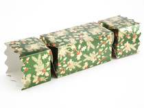 Large Twist End Cracker - Traditional Holly | Meridian Speciality Packaging