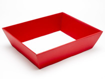 Hamper Tray - Medium Card Tray Hamper - Deluxe Red | Meridian Speciality Packaging