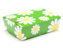 6 Choc Ballotin - Daisy Floral | Meridian Speciality Packaging