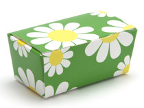 2 Choc Ballotin - Daisy Floral | Meridian Speciality Packaging