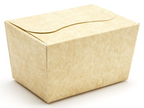 125g Ballotin - Natural Kraft | Meridian Speciality Packaging