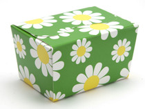 125g Ballotin - Daisy Floral | Meridian Speciality Packaging