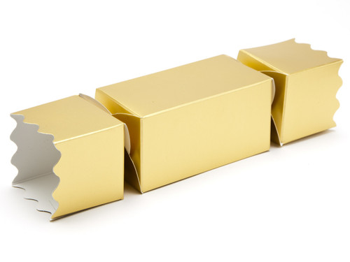 Medium Twist End Cracker - Matt Gold | Meridian Speciality Packaging