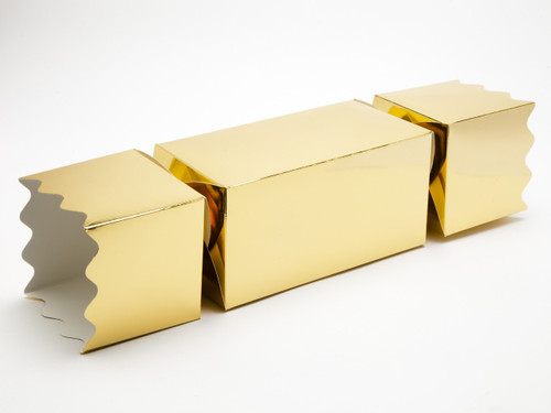 Giant Twist End Cracker - Bright Gold | Meridian Speciality Packaging