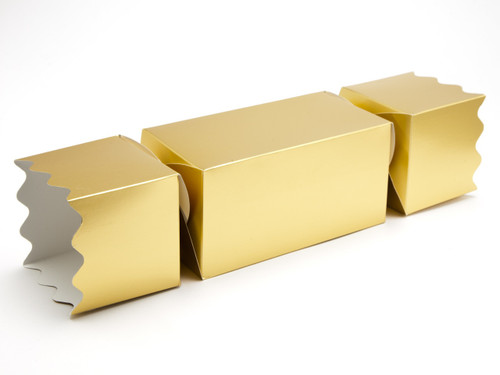 Extra Large Twist End Cracker - Matt Gold | Meridian Speciality Packaging