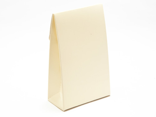 Small Cream A-Frame Carton | Meridian Speciality Packaging