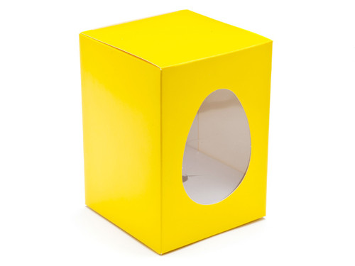 Sm Sunshine Yellow Easter Egg Ctn and Plin | Meridian Speciality Packaging