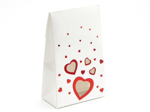 Small White Love A-Frame Carton | Meridian Speciality Packaging