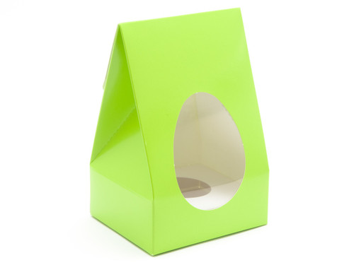 Sm Easter Green Tapered Egg Ctn and Plinth | Meridian Speciality Packaging