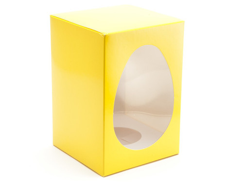 Med Sunshine Yellow Easter Egg Ctn and Pli | Meridian Speciality Packaging