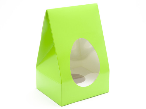 Med Easter Green Tapered Egg Ctnand Plinth | Meridian Speciality Packaging